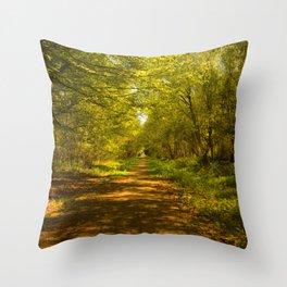 Woodland Views. Throw Pillow