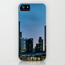 Frankfurt By Night iPhone Case