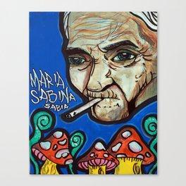Maria Sabina Canvas Print