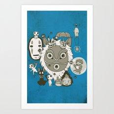 My Sweet Friends Art Print