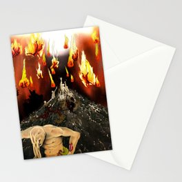 Climbing to Heaven II Stationery Cards