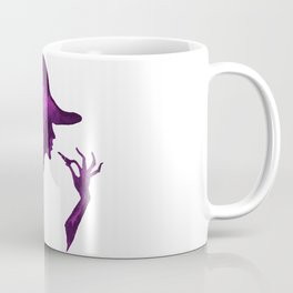 DIVA WITH HAT and Lipstick - PAINTED - Gorgeous VIOLET Coffee Mug