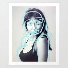 Nadia Art Print
