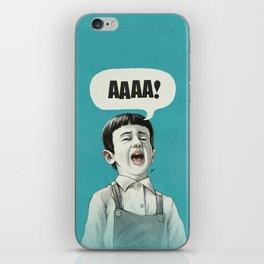 AAAA! (Blue) iPhone Skin