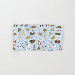 Guinea Pig Party! - Cavy Cuddles and Rodent Romance Hand & Bath Towel