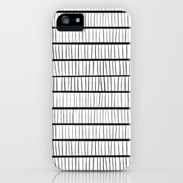 line pattern iPhone Case