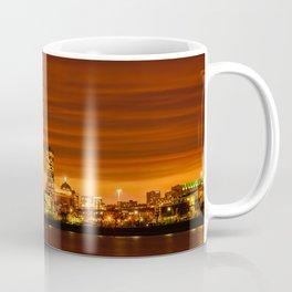 Boston, Christmas night - Sun-dusk Coffee Mug