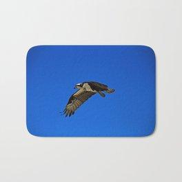 Osprey in Flight II Bath Mat
