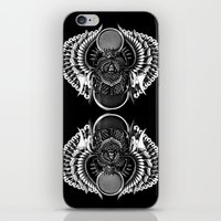 egyptian iPhone & iPod Skins featuring Egyptian Scarab by BIOWORKZ