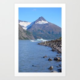 Iceberg! Art Print