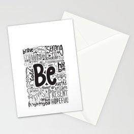 Lab No. 4 - Inspirational Positive Quotes Poster Stationery Cards