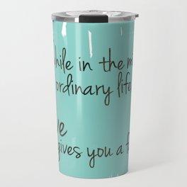 Love gives you a fairytale Travel Mug