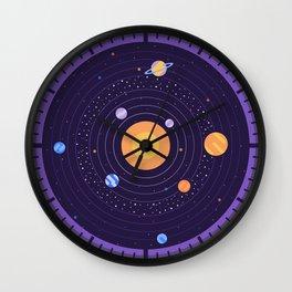 Analog System Wall Clock