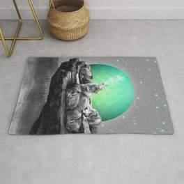 Echoes of a Lullaby / Geometric Moon Rug