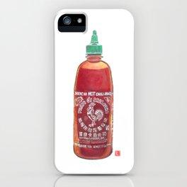 Sriracha Hot Sauce iPhone Case