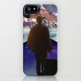 A Trip To Another Dimension iPhone Case