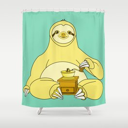 Before Coffee Shower Curtain