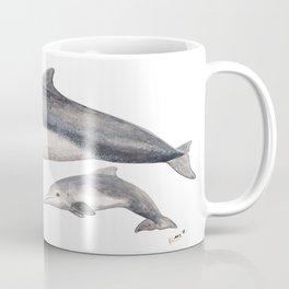 Australian humpback dolphin (Sousa sahulensis) with baby Coffee Mug