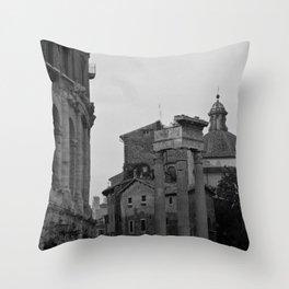 Roman Wanderings Throw Pillow