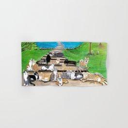 Rainbow Bridge Cats and dogs Hand & Bath Towel