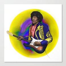 James Marshall Hendrix Canvas Print
