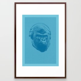The Crazy Monkey Project Framed Art Print