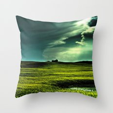 Passing Through Throw Pillow
