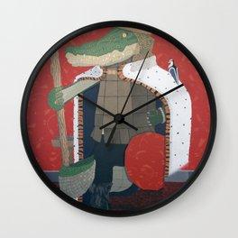 Crocodile King (KNG) Wall Clock