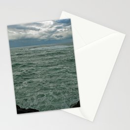 Pacific Ocean in May Stationery Cards