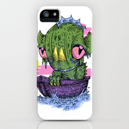 Lagoon iPhone Case