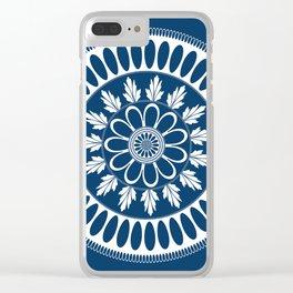 Botanical Ornament Clear iPhone Case