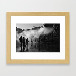 Launch Command Framed Art Print