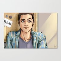 daunt Canvas Prints featuring Snark Nerdy To Me by Daunt