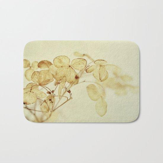 winter flora Bath Mat