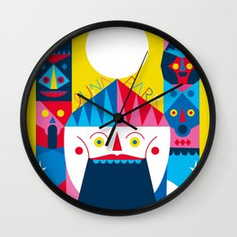 LUNA PARK - WELCOME Wall Clock