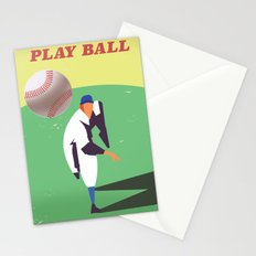 Play Ball Stationery Cards