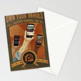 Pressgram Propaganda Poster Stationery Cards