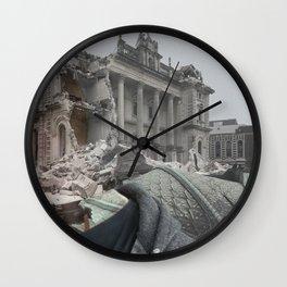Earthquake Memorys  Wall Clock