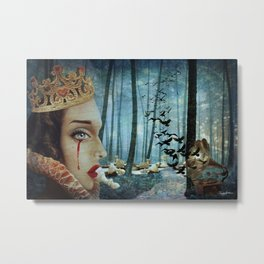 Forest Of Regrets Metal Print