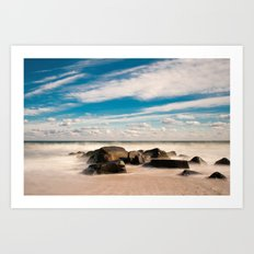 Sea Girt Beach II Art Print
