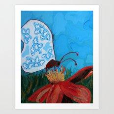 Beauty Within - Panel 1 Art Print