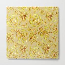 Golden yellow foliage  Metal Print