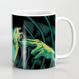 Mind-control powers in good use Coffee Mug