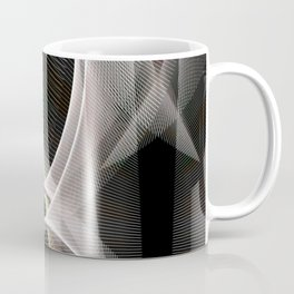 Abstract symmetry in flow of silence Coffee Mug