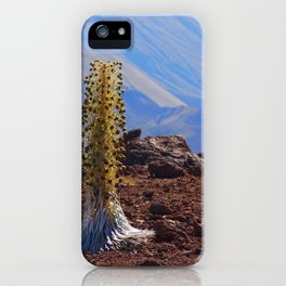 Scenic Silversword iPhone Case