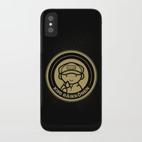 Chibi Kimi Raikkonen - Lotus F1 Team Slim Case iPhone X