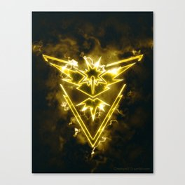 Team Instinct - Zapdos Canvas Print