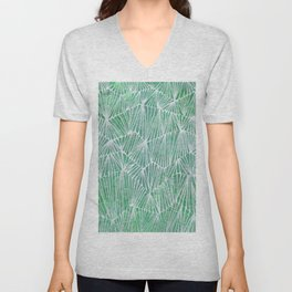 Linear No. 2 Unisex V-Neck