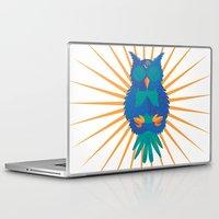 coachella Laptop & iPad Skins featuring Wide Awake by Dulce Velasco