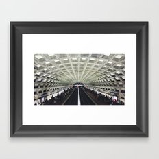 Gallery Place Framed Art Print